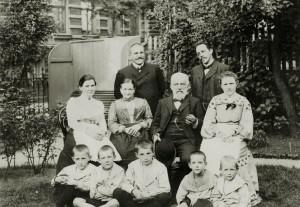 Die Familie Dennert im Jahr 1905, Foto Familienarchiv Dennert